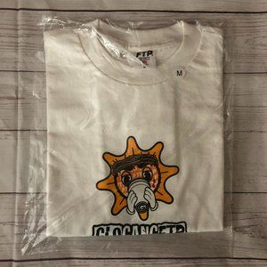 FTP X Glo Gang Glo Man Tee White *FIRM PRICE*